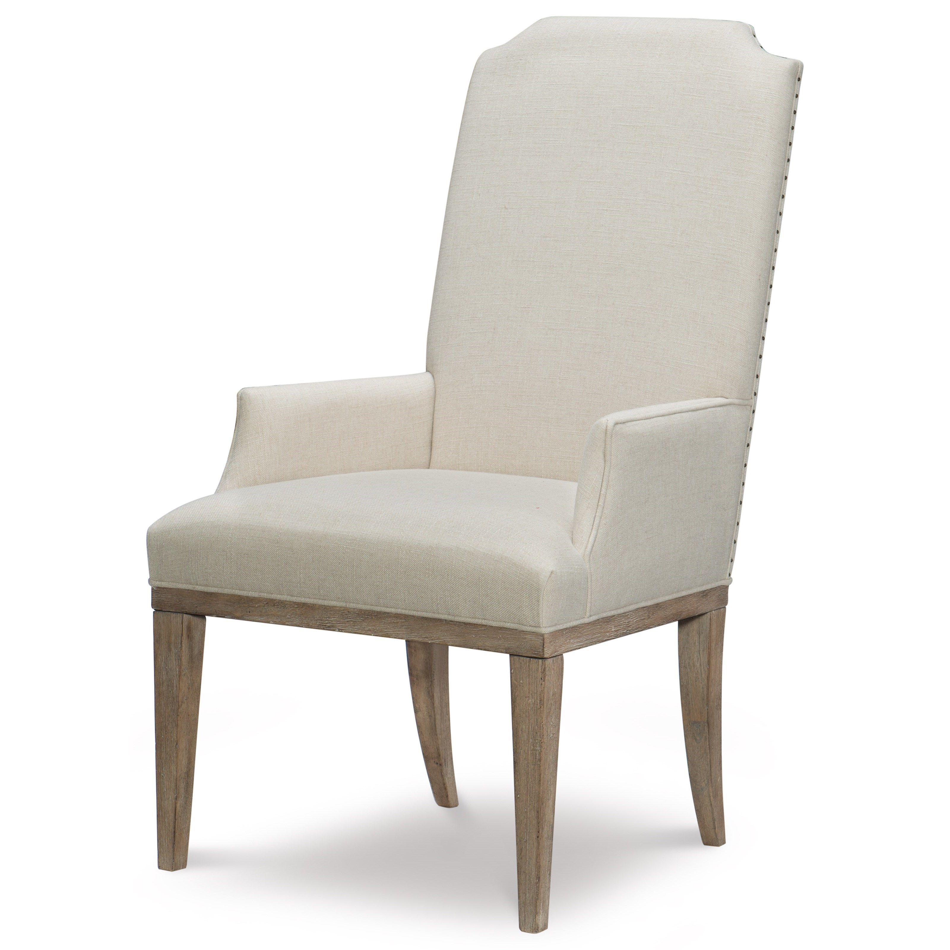 Monteverdi  Upholstered Host Arm Chair by Rachael Ray Home by Legacy Classic at Fashion Furniture