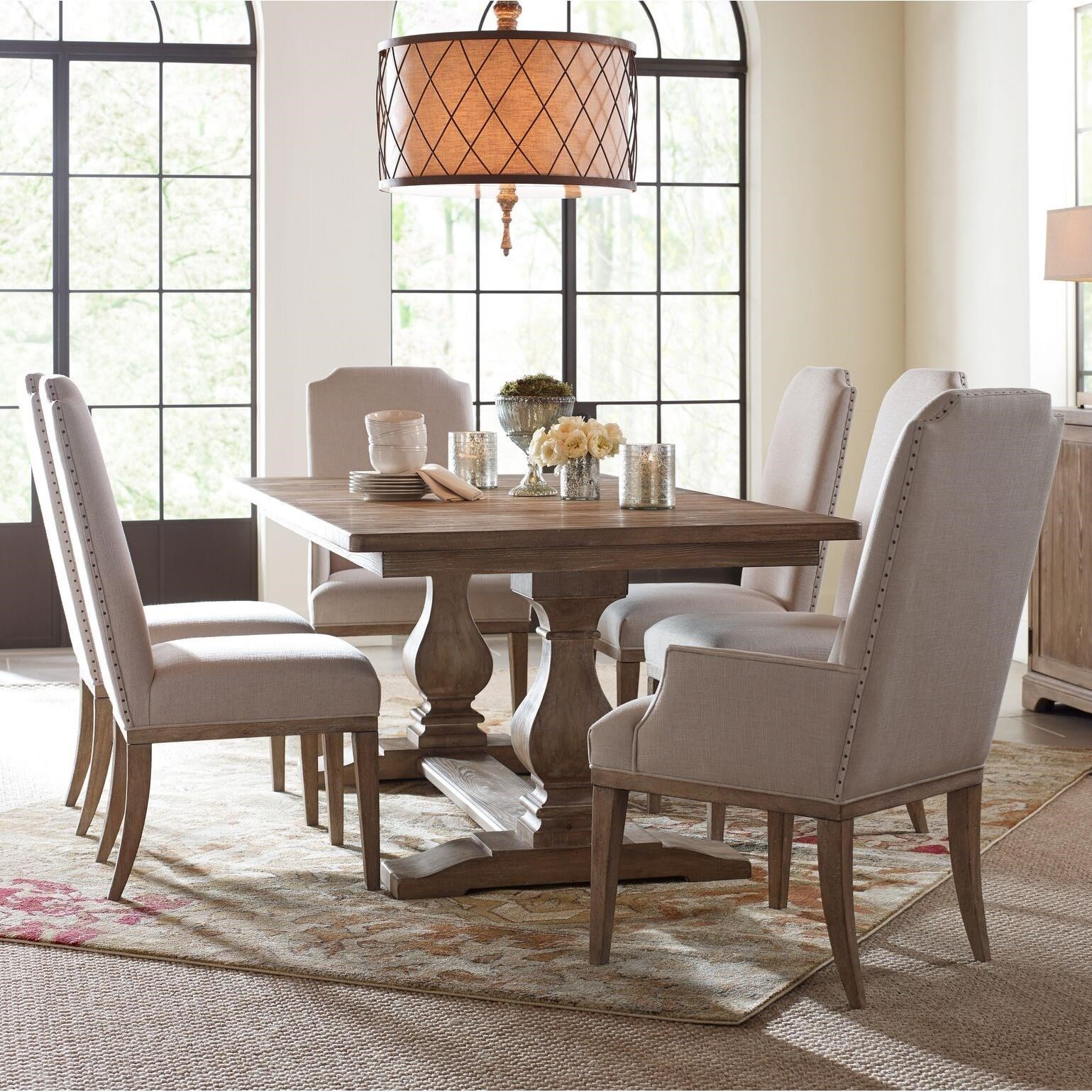 Monteverdi  7 Piece Rectangular Table Set by Rachael Ray Home by Legacy Classic at Fashion Furniture