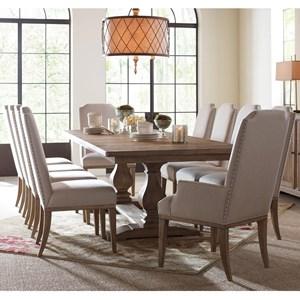 11 Piece Rectangular Table Set