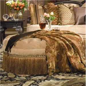 Rachlin Classics Becky Traditional Tufted Ottoman With