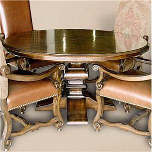 "Rare Collections Castlegate 60"" Round Dining Table"
