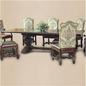 Rare Collections Castlegate Trestle Dining Table