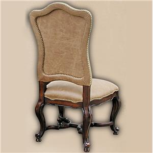 Rare Collections Castlegate Leather Upholstered Side Chair