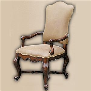 Rare Collections Castlegate Leather Upholstered Arm Chair