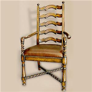 Rare Collections Castlegate Ladder Back Arm Chair
