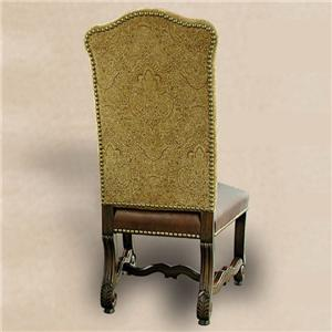 Rare Collections Castlegate Upholstered Side Chair in Dover Camel