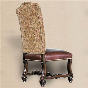 Rare Collections Castlegate Upholstered Side Chair in New Fabric