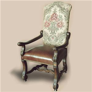 Rare Collections Castlegate Upholstered Arm Chair