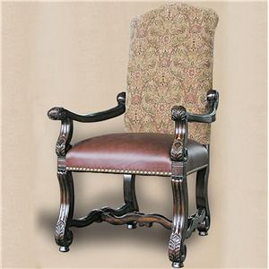 Rare Collections Castlegate Upholstered Arm Chair in New Fabric