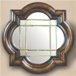 Rare Collections Castlegate Accent Leaded Glass Mirror