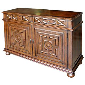 Rare Collections Castlegate Entertainment Center Base