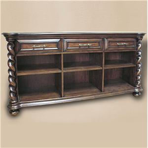 Rare Collections Castlegate Bookcase Sofa Table