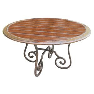 Rare Collections Channel Crossings Round Dining Table
