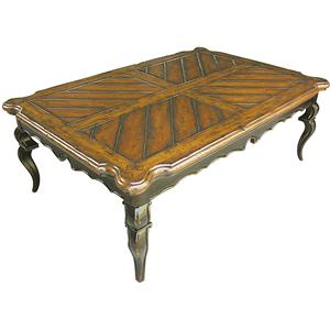 Rare Collections Channel Crossings Rectangle Cocktail Table