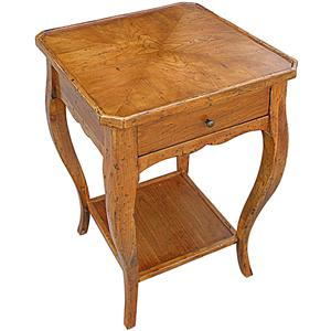 Rare Collections Channel Crossings Square Lamp Table