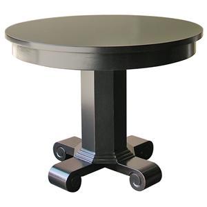 Rare Collections La Bella Vita Round Lamp Table