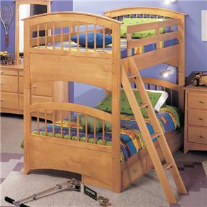 Renar Furniture Contempo Youth Bunk Bed with Underbed Storage