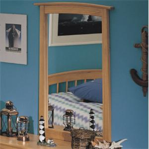 Renar Furniture Contempo Youth Dresser Mirror