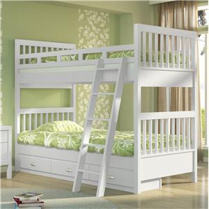 Renar Furniture Tahoe Twin Bunk Bed