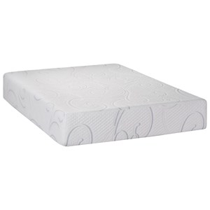 "King 12"" Gel Memory Foam Mattress"