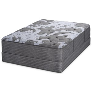 King Plush Pocketed Coil Mattress and Foundation