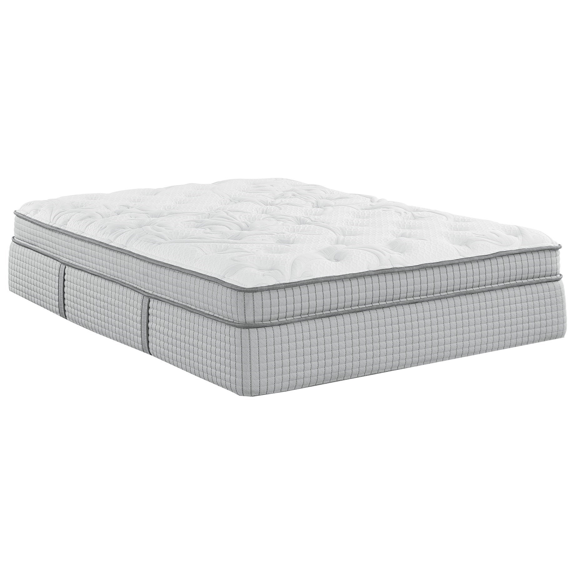Biltmore House Euro Top Full Euro Top Coil on Coil Mattress by Restonic at Wilcox Furniture