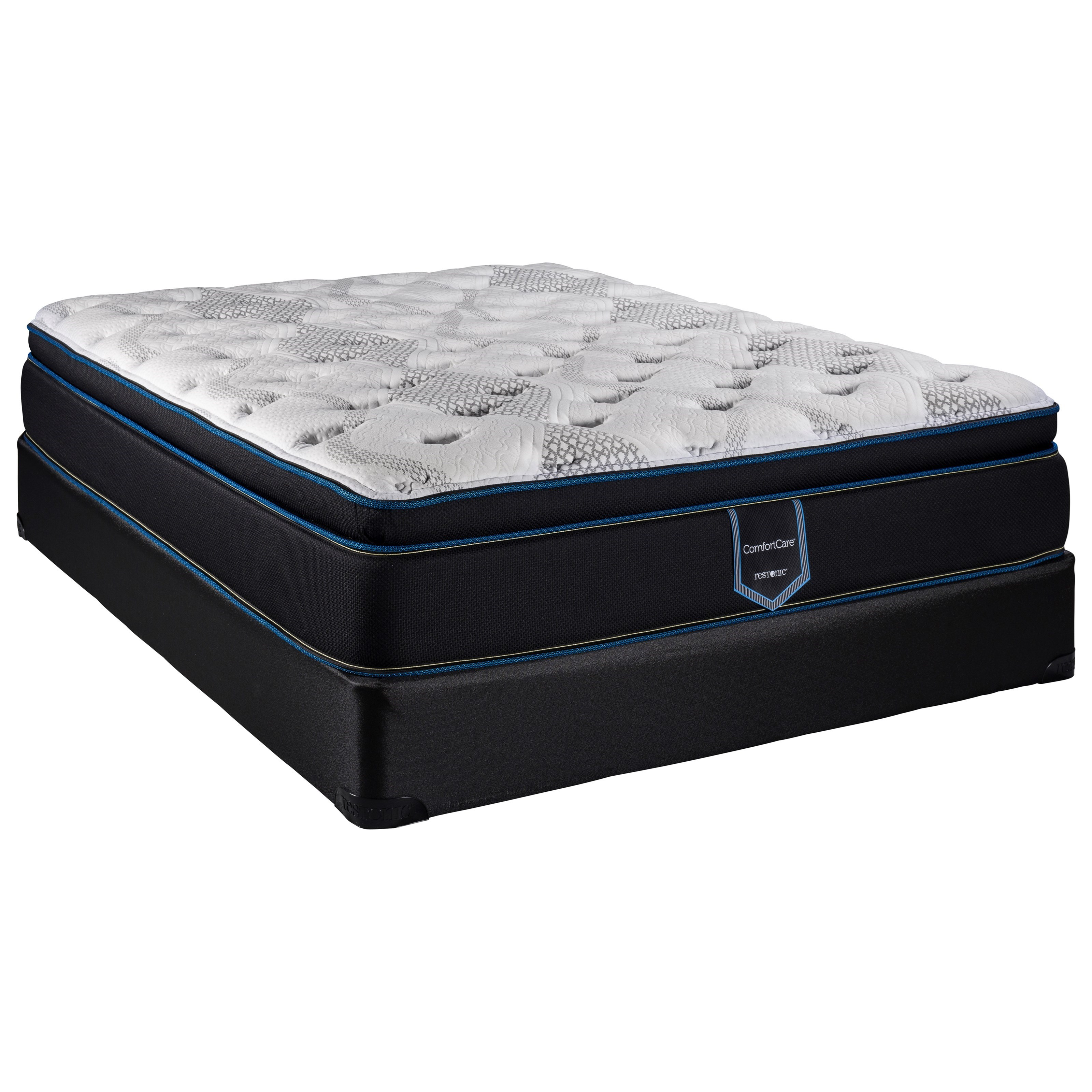 """Blossom Pillow Top ComfortCare King 14"""" Pillow Top Mattress Set by Restonic at H.L. Stephens"""