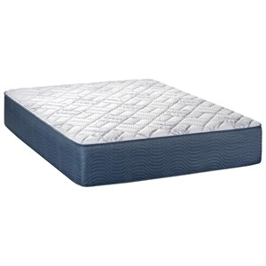 """Queen 13"""" Firm Pocketed Coil Mattress and Deluxe Adjustable Base"""