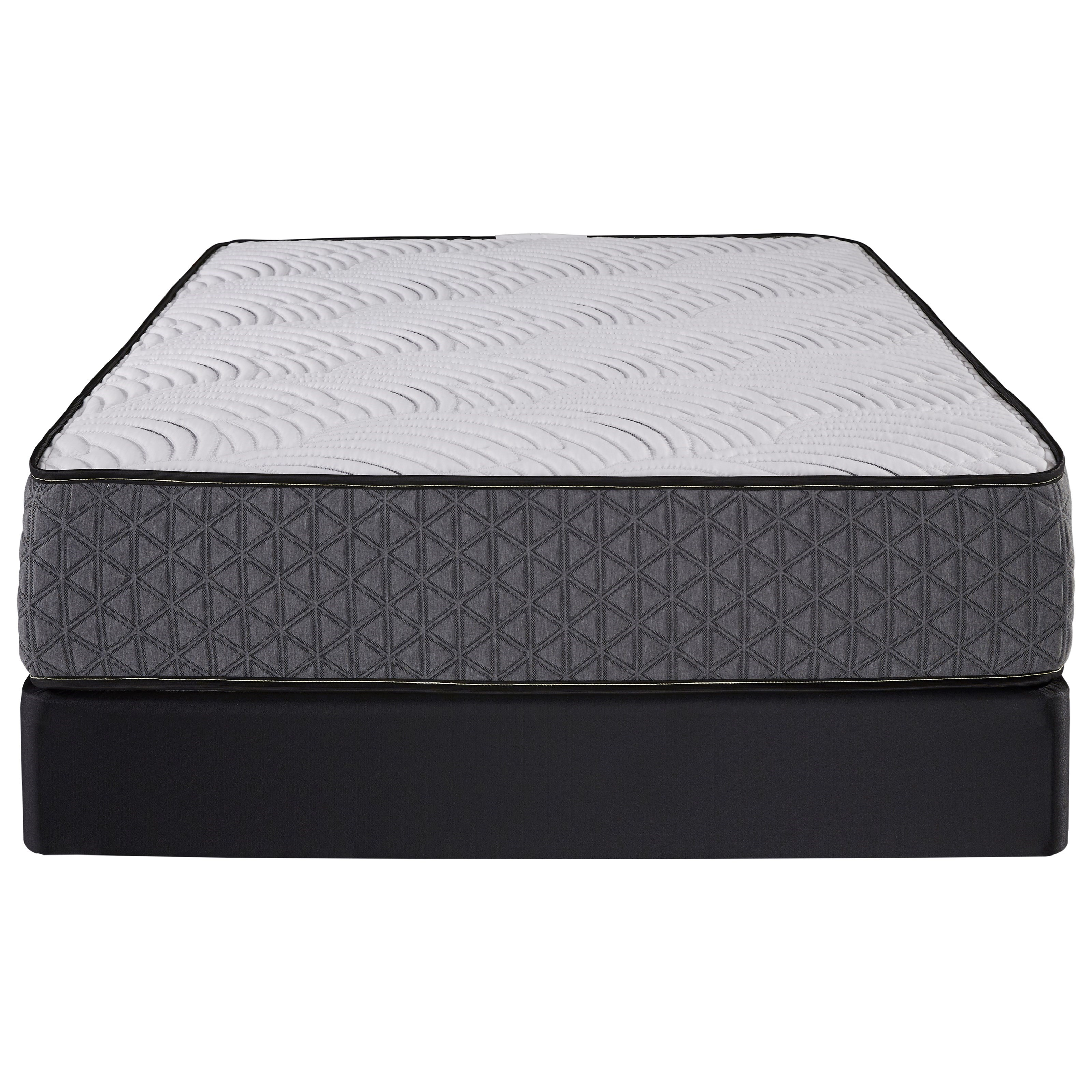 Cordova Firm Twin Pocketed Coil Mattress Set  by Restonic at H.L. Stephens
