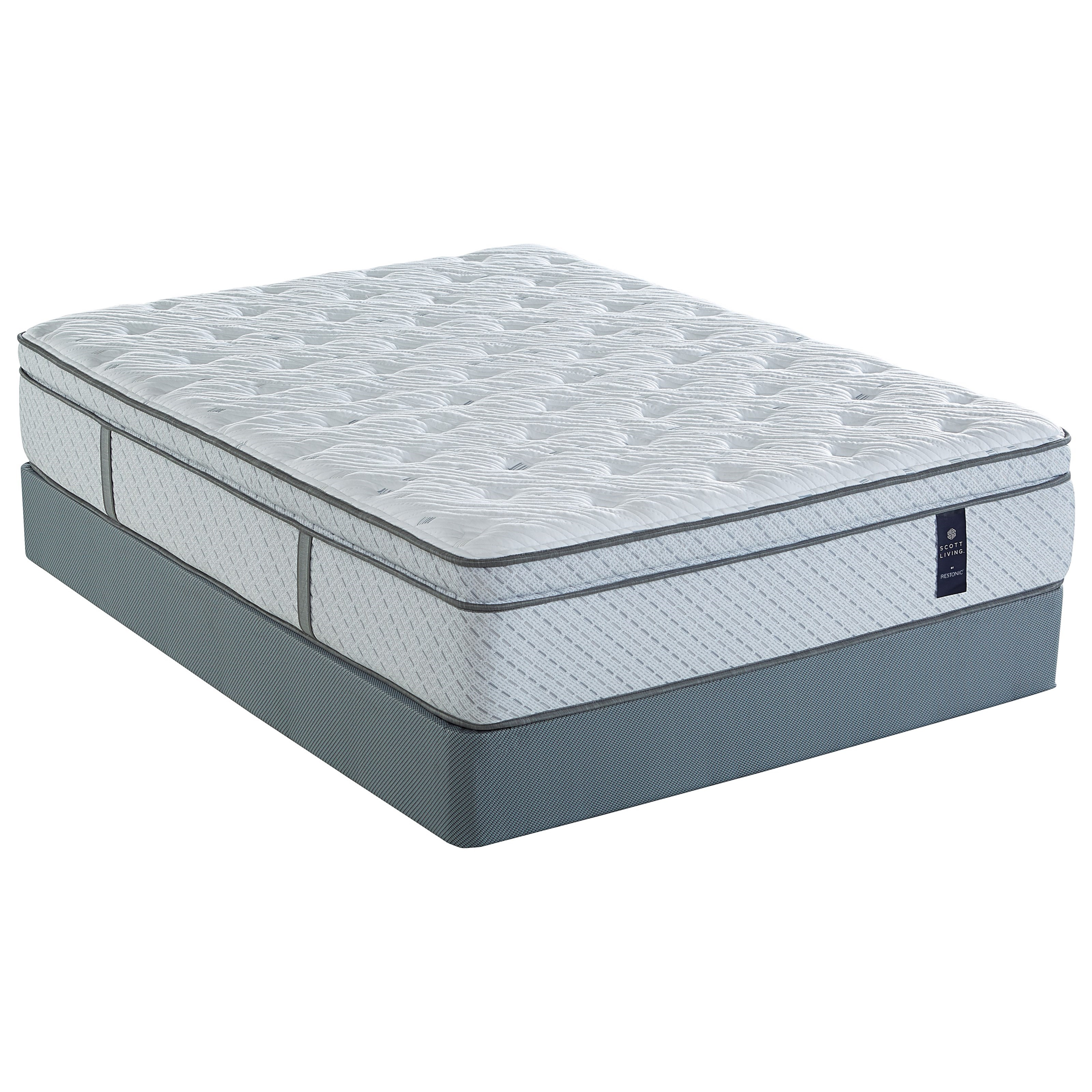 Biltmore Elmwood ET King Pocketed Coil Mattress Set by Restonic at Wilcox Furniture