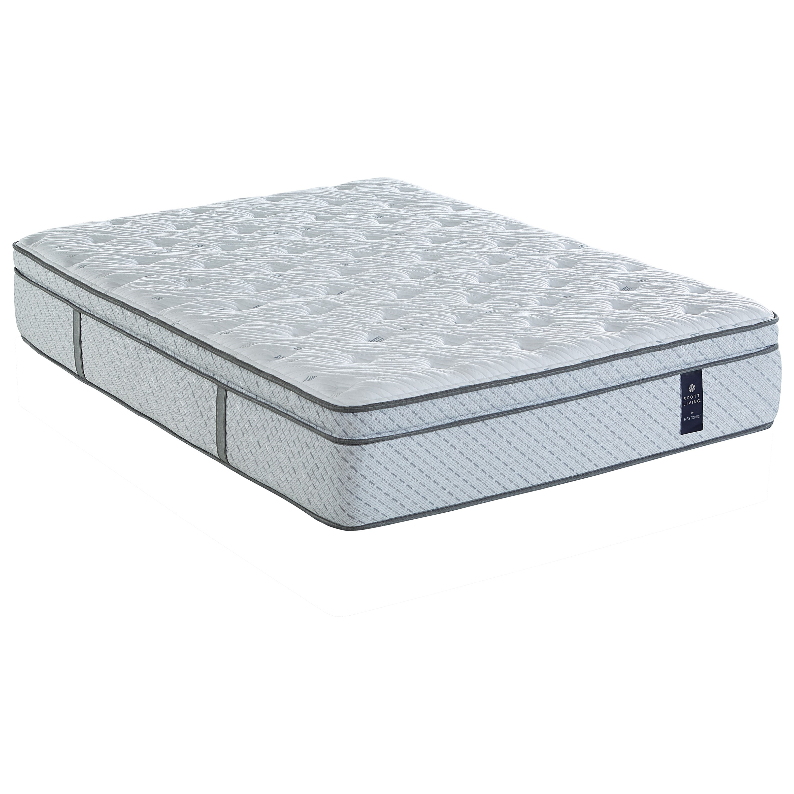 Juniper Euro Top Queen Pocketed Coil Mattress by Restonic at O'Dunk & O'Bright Furniture