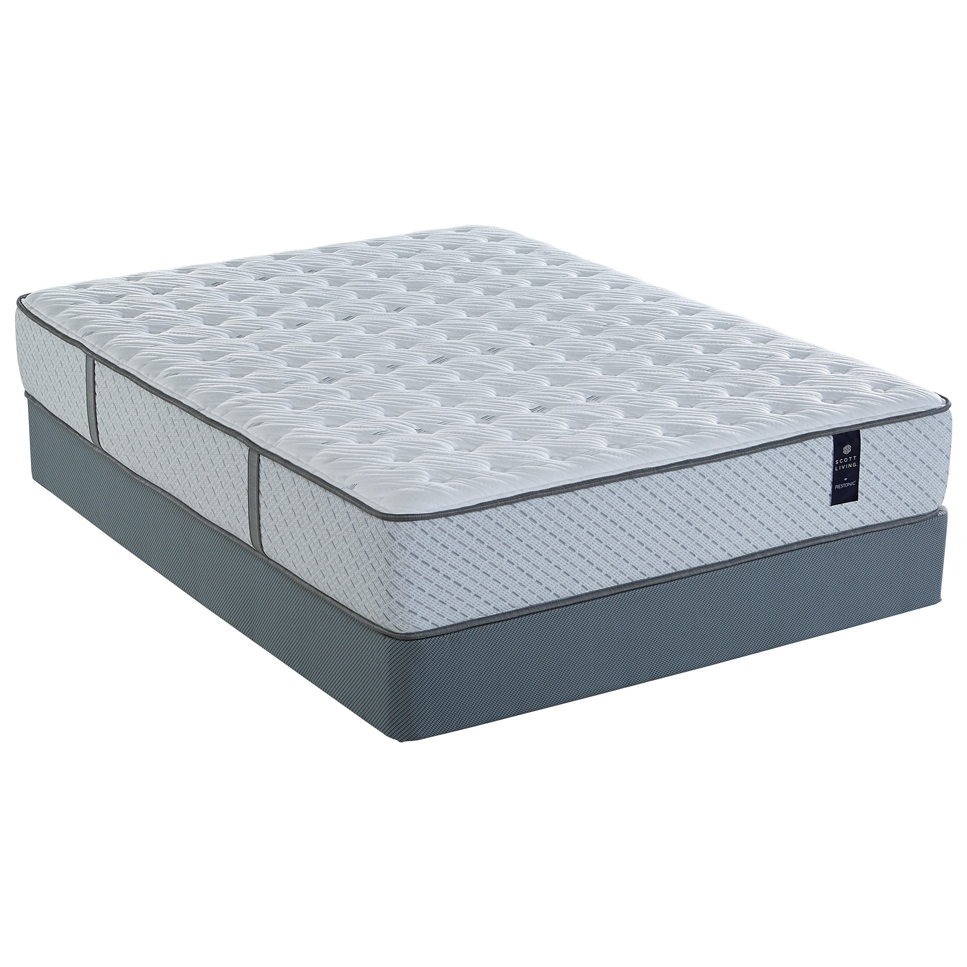 Juniper Extra Firm Twin XL Pocketed Coil Mattress Set by Restonic at H.L. Stephens