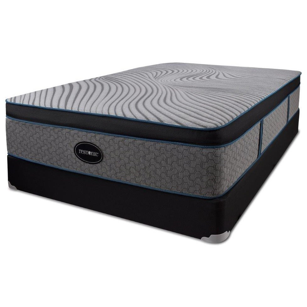 Luxemburg Hybrid Euro Top Queen Hybrid Euro Top Mattress Set by Restonic at H.L. Stephens