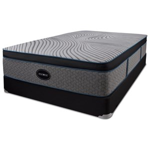 Queen Hybrid Euro Top Mattress and 5