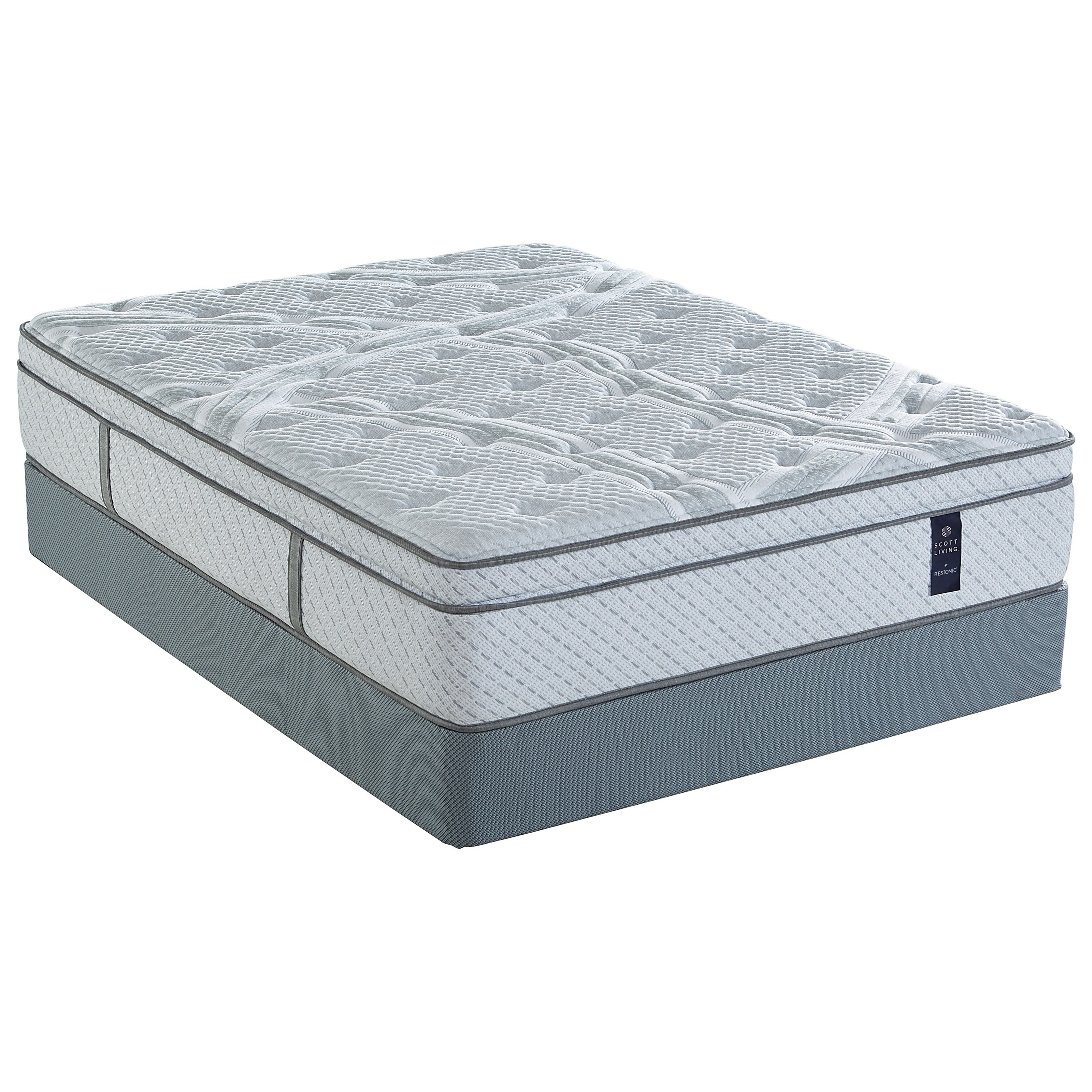 Primrose Euro Top Twin Pocketed Coil Mattress Set by Restonic at Furniture Fair - North Carolina