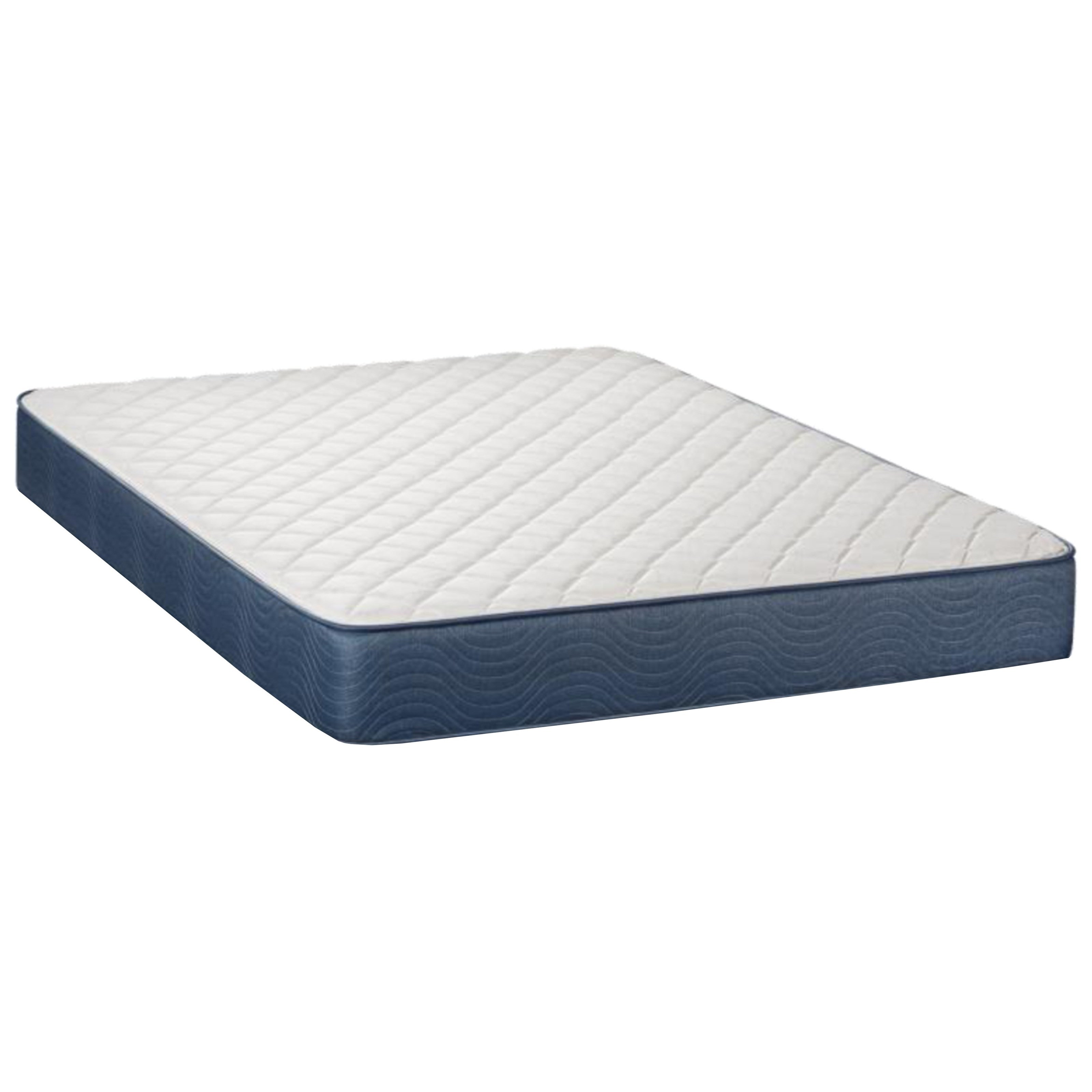 """Sumner Firm Full 9"""" Firm Two Sided Mattress by Restonic at Hudson's Furniture"""