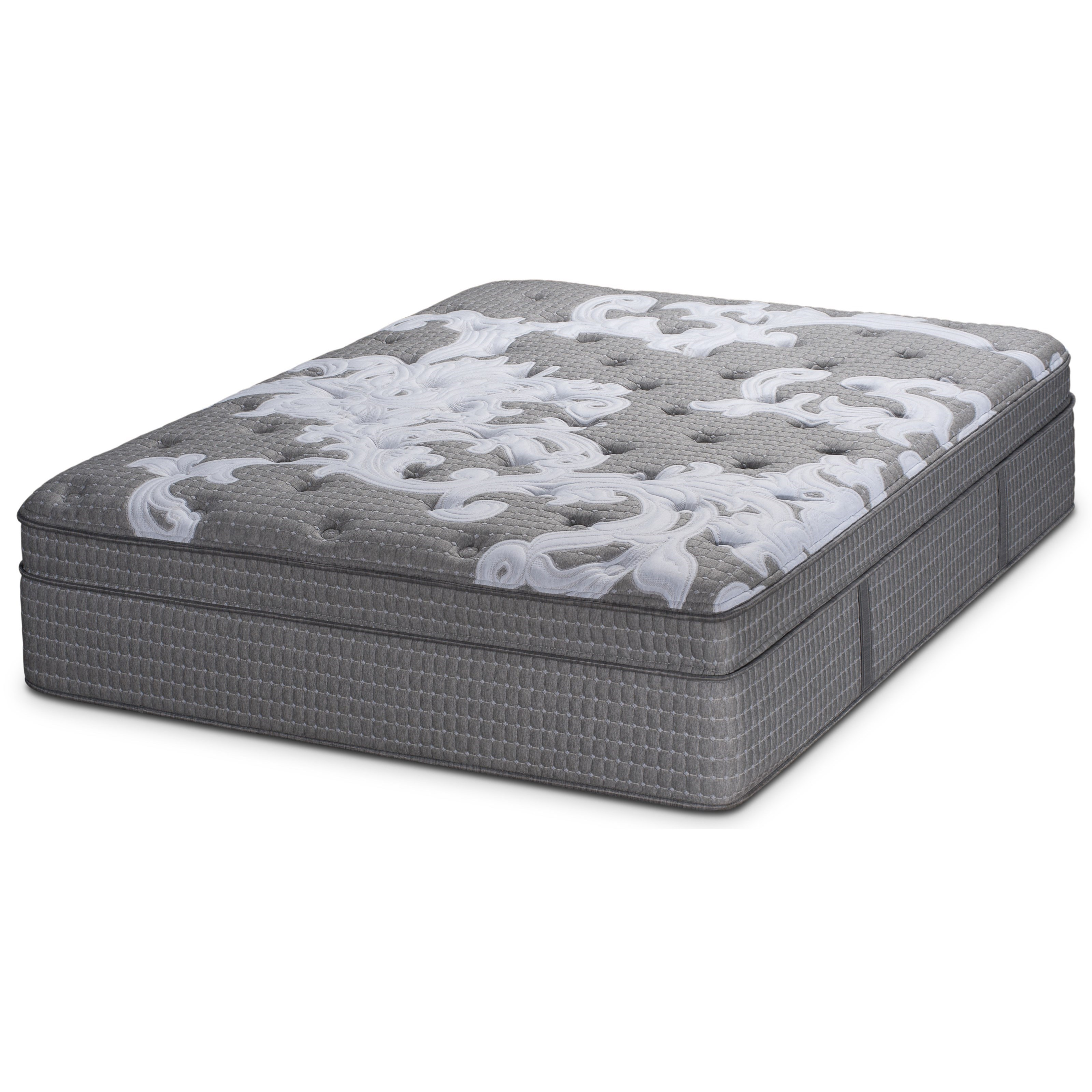 Sunshine ET Full Pocketed Coil Mattress by Restonic at Dunk & Bright Furniture