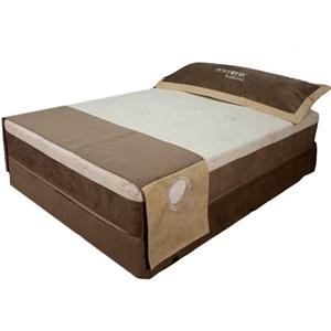 Queen Gel Infused Memory Foam Mattress and Foundation