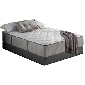 "Queen 13"" Firm Hybrid Mattress and 9"" Universal Foundation"
