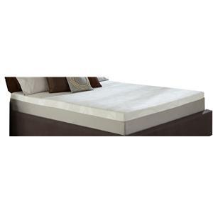 Restonic Wedgewood 10-Inch Cal King Memory Foam Mattress Set