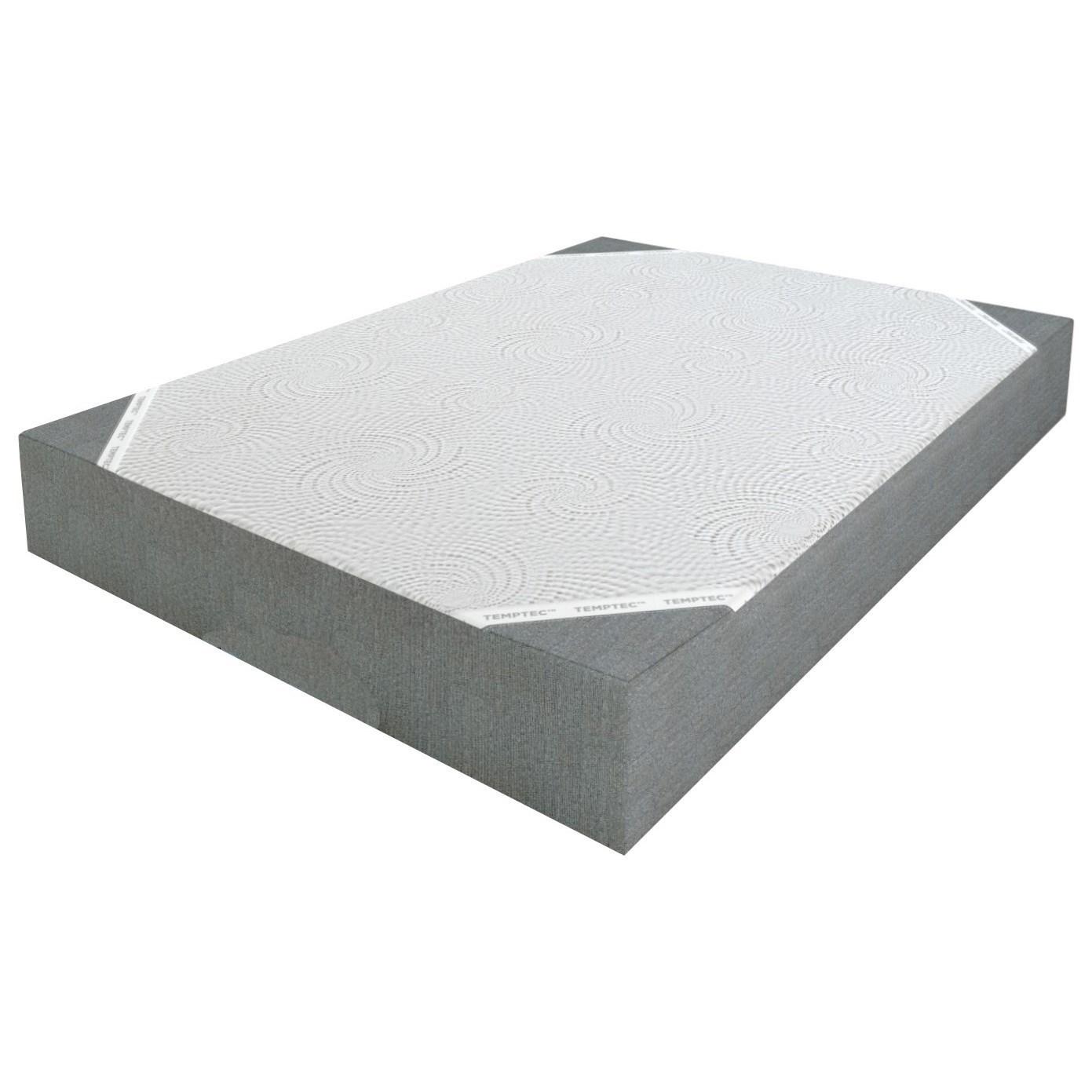 "Wedgewood II 8 Twin XL 8"" Gel Memory Foam Mattress by Restonic at Wilcox Furniture"
