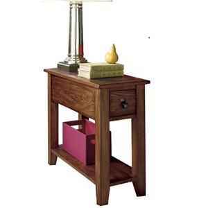 Chairside Quarried Stone Top End Table