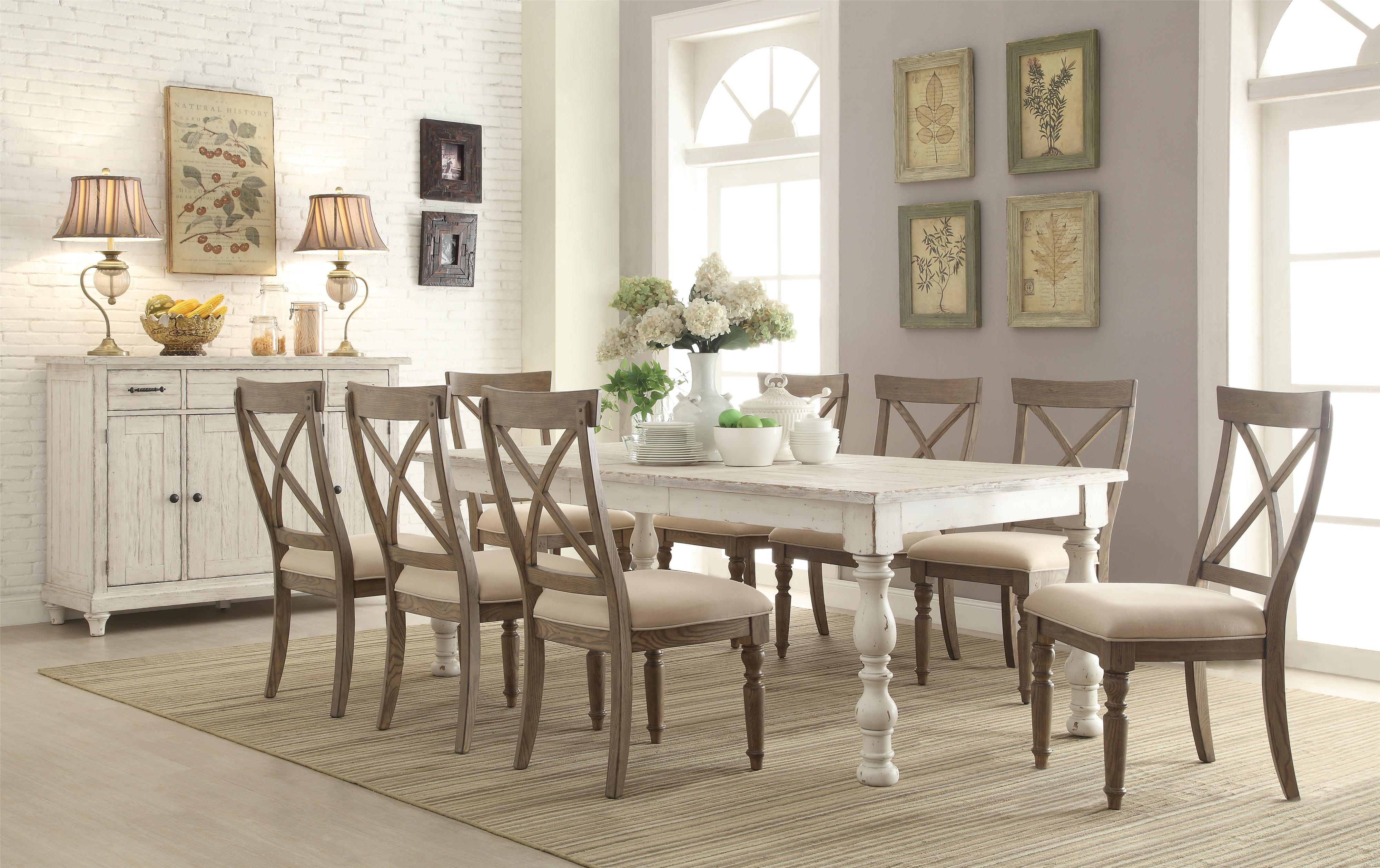 Aberdeen Dining Room Group by Riverside Furniture at Esprit Decor Home Furnishings
