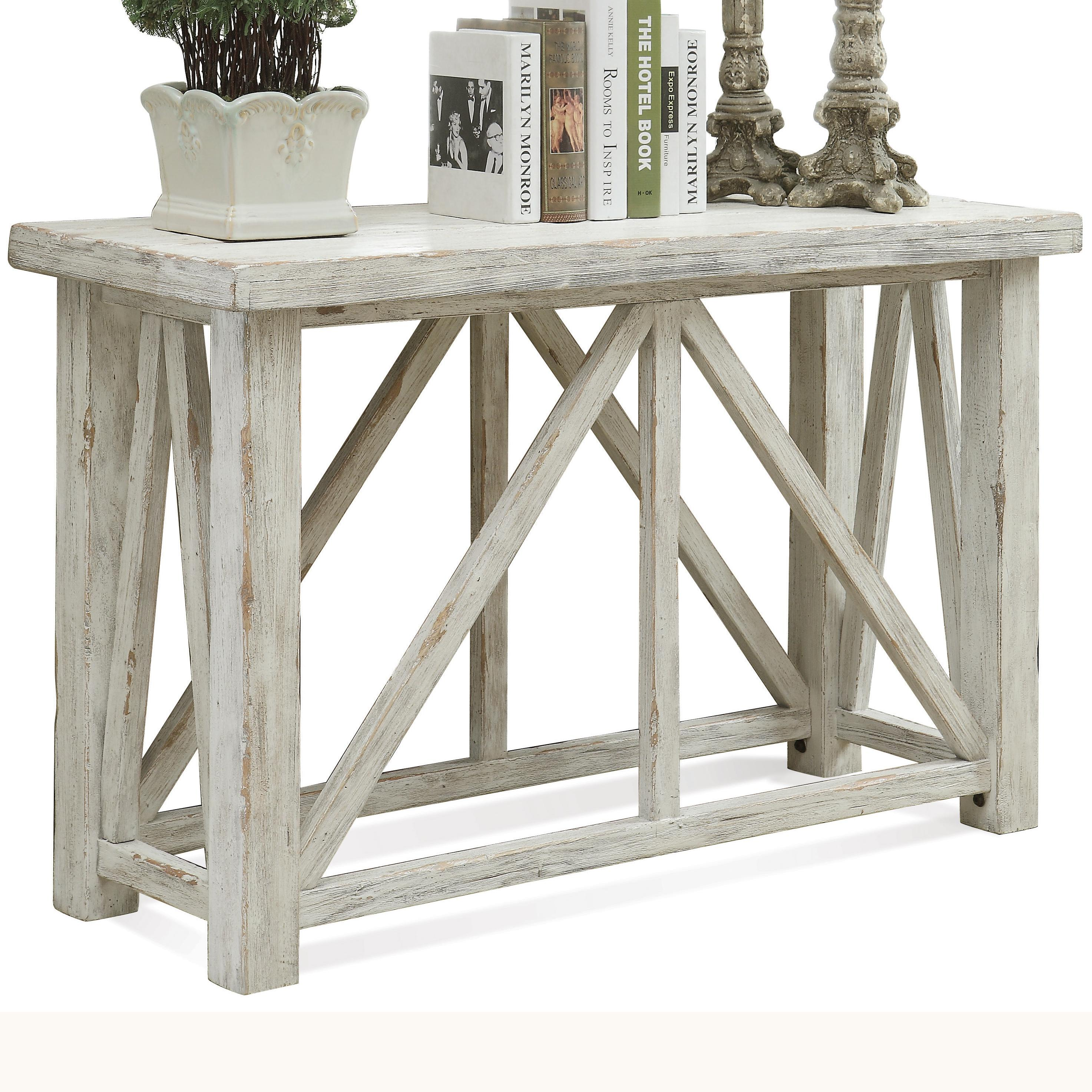 Aberdeen Sofa Table by Riverside Furniture at Esprit Decor Home Furnishings