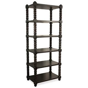 Open 5 Shelf Bookcase