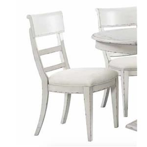Side Chair Chipped White