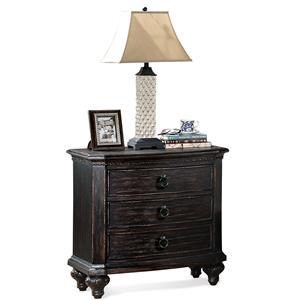 Riverside Furniture Bellagio Two Drawer Nightstand