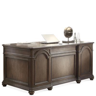 Belmeade Executive Desk by Riverside Furniture at Zak's Home