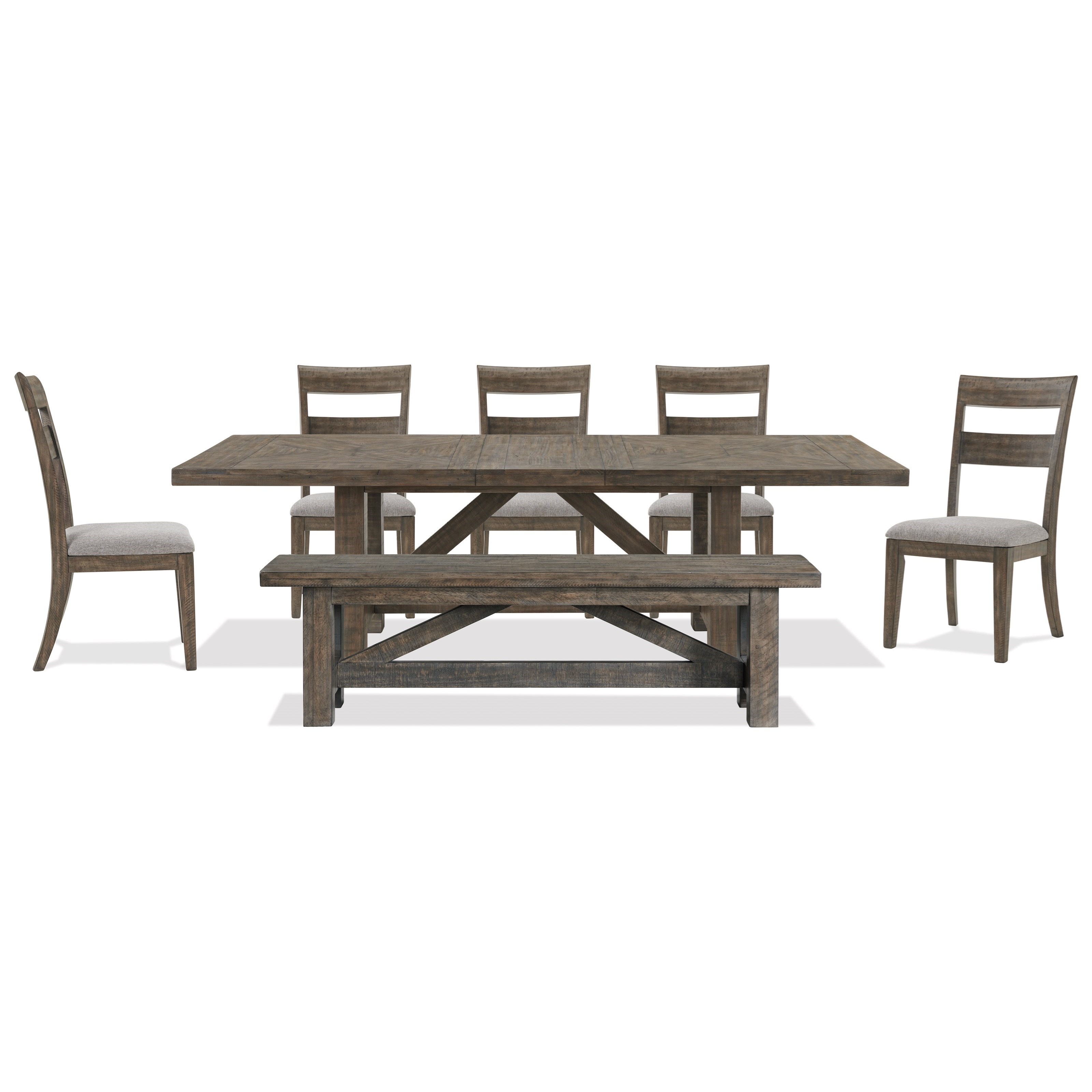 Bradford 7-Piece Dining Set  by Riverside Furniture at Zak's Home