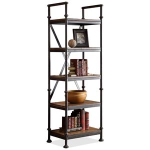 Open Etagere with 5 Shelves